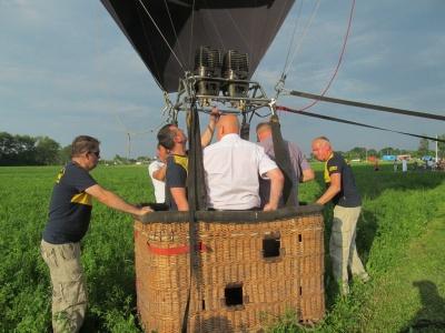 В Черновицкой области на фестивале ко Дню молодежи запускали воздушный шар