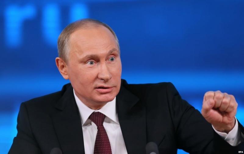 Путін заявив, щоРосія буде реагувати на«цинічні» санкції США