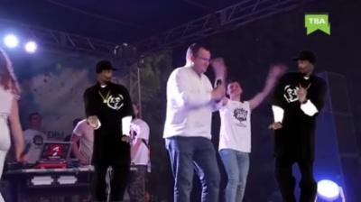 Мер Чернівців станцював на сцені фестивалю «Студентська Республіка» (ВІДЕО)