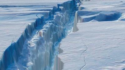 Один із найбільших айсбергів Землі невдовзі утвориться в Антарктиді