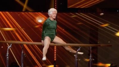 91-річна гімнастка вразила усіх своїм виступом: відео