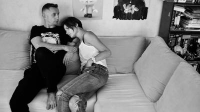 Сергій Жадан показав дружину і доньку в емоційній зйомці: фото