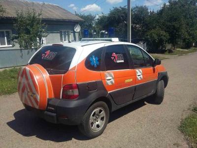 Райлікарня Буковини отримала санітарне авто з Італії