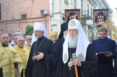 Патриарх Филарет прибыл на Буковину (ФОТО)