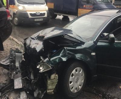 В Черновцах на Калиновской - ДТП с пострадавшими (ФОТО)