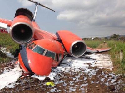 В Африці розбився український літак