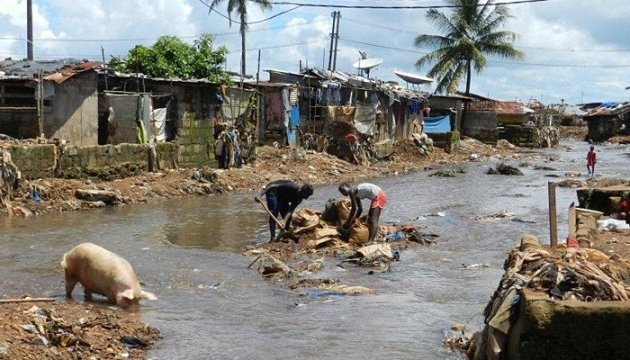 УСьєрра-Леоне через повені і зсуви загинули більше 300 людей