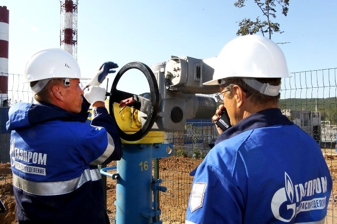 «Газпром» заявив про постачання вУкраїну майже 1,4 млрд кубометрів газу