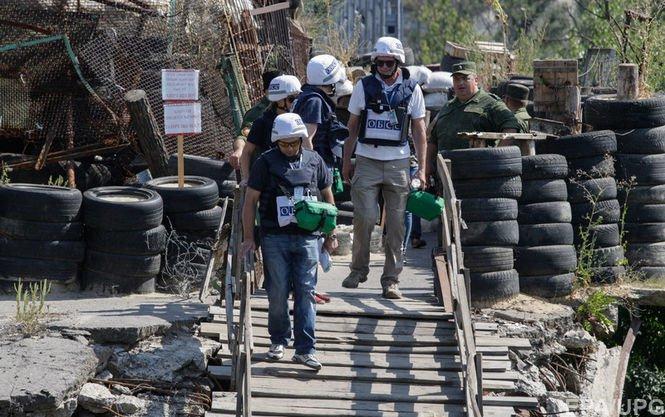 Порошенко: Україну невлаштовує патрулювання ОБСЄ тільки вдень