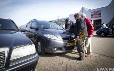 На литовских номерах. В Украине вне закона более 50 тыс. автомобилей
