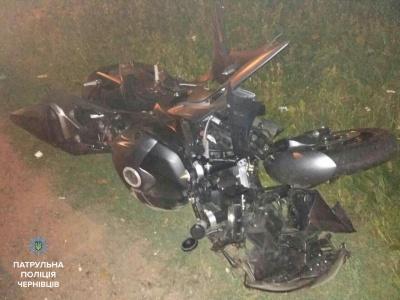 Поліція знайшла водія мотоцикла, який збив пішохода на «зебрі» у Чернівцях