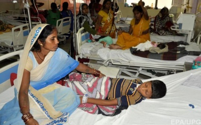 В Індії через брак кисню у лікарні протягом шести днів померли 64 хворі дитини