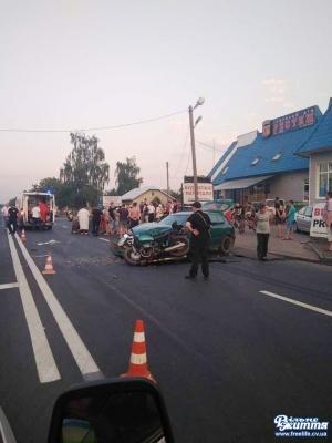 Мотоцикліст мало не залишився без ноги після ДТП на Буковині