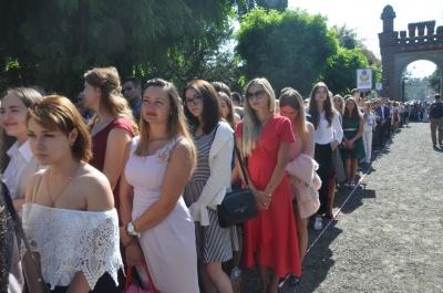 У ЧНУ відбулася посвята першокурсників у студенти (ФОТО)