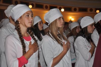 Першокурсників БДМУ посвятили в студенти (ФОТО)