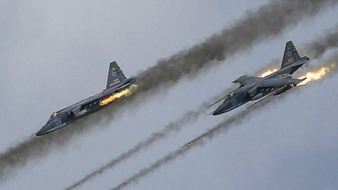 Російська авіація обстріляла пароми уСирії, 34 людини загинуло