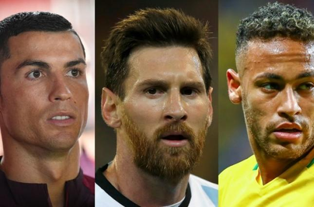 Трійка претендентів наЗолотий м'яч 2017