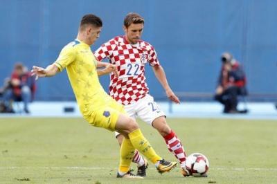 Хорватія посунула Україну на другу позицію у відбірковій групі на ЧС-2018