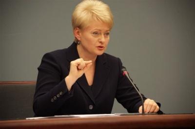 Президент Литви розповіла, як отримувала з Росії список вимог, після зустрічі з Путіним