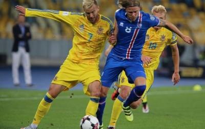 Збірна України програла Ісландії з рахунком 0:2