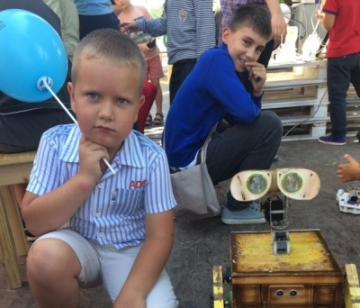 У Чернівцях відбулася виставка роботів (ФОТО)