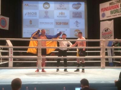 Буковинец стал чемпионом Европы по кикбоксингу