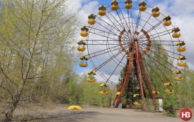 В Притч  'памяти после остановки в 1986-м запустили колесо обозрения (ВИДЕО)