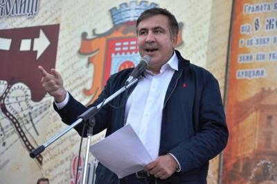 У Чернівцях Саакашвілі критикував Порошенка, заявивши, що він узурпував владу