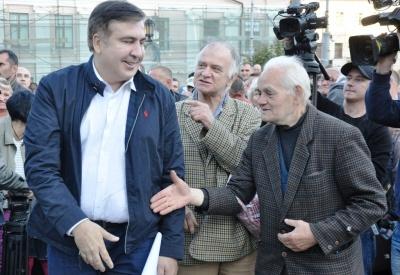 Саакашвілі у Чернівцях повідомив, коли він планує провести мітинг у Києві
