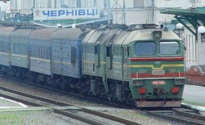 На вихідні призначено додатковий потяг Київ-Чернівці