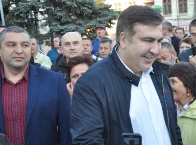 Екс-голова ОДА образився на Геращенка через підрахунок прихильників Саакашвілі на мітингу в Чернівцях