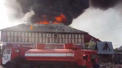 Рятувальники локалізували пожежу в ресторані у Мамаївцях, постраждалих немає