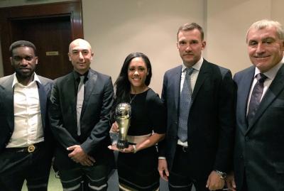 Андрій Шевченко вдруге поспіль виступив експертом на оголошенні фіналістів премій ФІФА