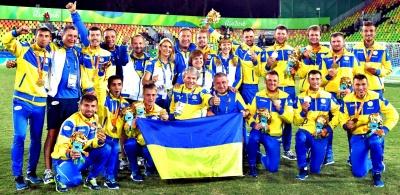 Українські паралімпійці перемогли на Чемпоінаті світу з футболу