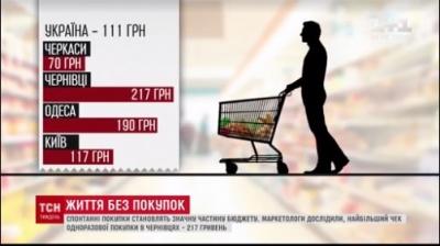 У Чернівцях – найбільша сума чеку у магазині в Україні