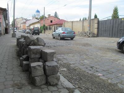У Чернівцях відремонтують «танковий напрямок» - вулицю Руську