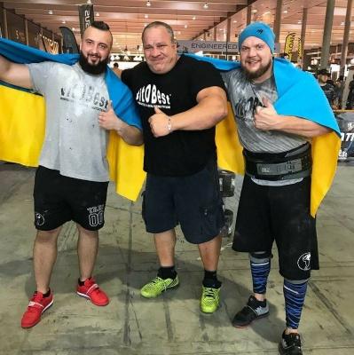 Двоє стронгменів із Чернівців перемогли на конкурсі Арнольда Шварценеггера у Барселоні