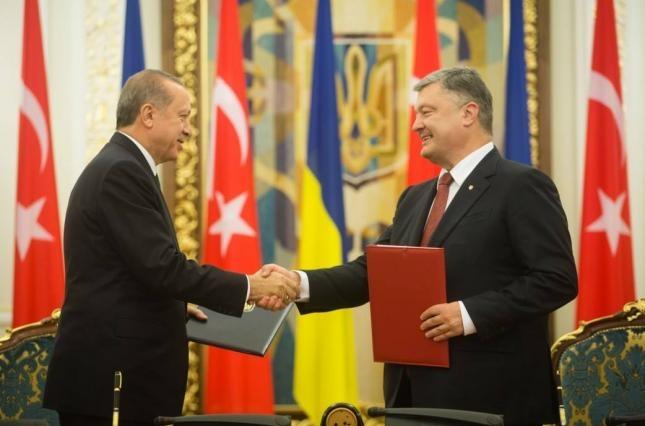 Україна і Туреччина підписали 9 міждержавних документів