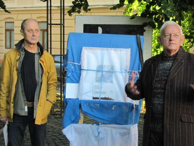 Політ будинку-корабля і фрагменти старого міста - у галереї Любківського (ФОТО)