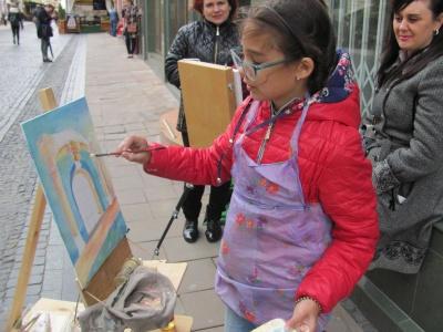 У Чернівцях відкрили художньо-мистецький фестиваль-пленер «Веселкова палітра рідного краю»
