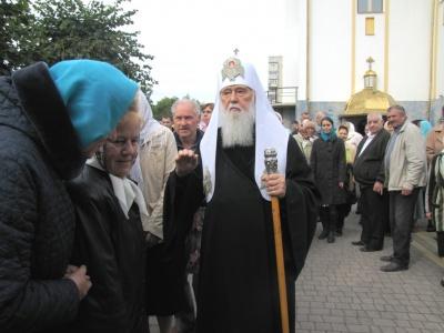«Це голос Москви»: патріарх Філарет розповів, чому УПЦ КП припинила діалог про об'єднання з автокефальною церквою