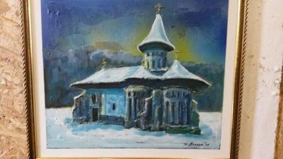 Внеси пожертву - візьми картину: у Чернівцях відкрили благодійну виставку на підтримку учасників АТО (ФОТО)