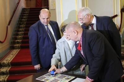 У Чернівцях презентували нову поштову марку до 75-річчя створення УПА