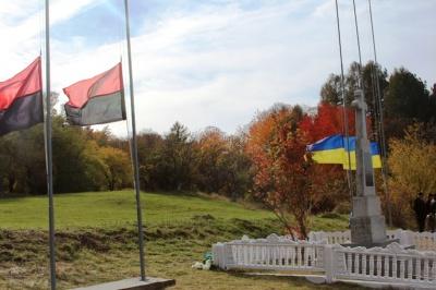 У Чернівецькій області вшанували пам'ять музикантів оркестру воїнів УПА, які полягли у Добринівцях