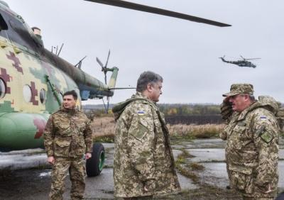Президент ананосував ротацію частин ЗСУ на Донбасі