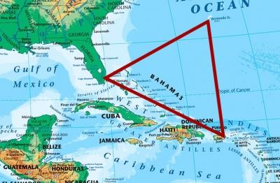 Вчені пояснили, чим насправді небезпечний бермудський трикутник