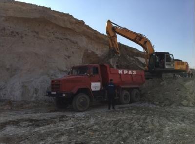 Фірма на Буковині незаконно видобувала пісок