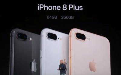 """Офіційний продаж """"iPhone 8"""" та """"iPhone 8 Plus"""" стартував в Україні"""