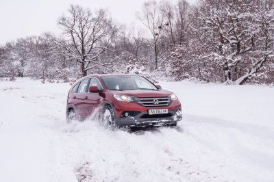 ТЕСТ-ДРАЙВ NEW Honda CR-V 2013