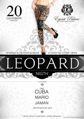 Leopard Night